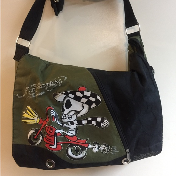 36554700667 Ed Hardy Bags   School Bag   Poshmark